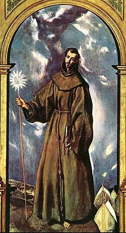 El Greco: San Bernardino de Siena
