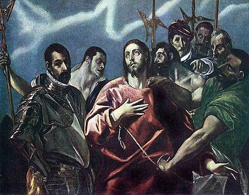 El Greco - The Disrobing of Christ - WGA10545
