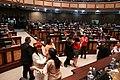 El Pleno de la Asamblea Nacional exaltó el talento del Trío Colonial. Otorgó la condecoración Vicente Rocafuerte al Mérito Cultural (9317988194).jpg