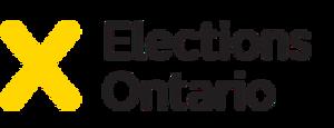 Elections Ontario - Image: Elections Ontario logo yellow