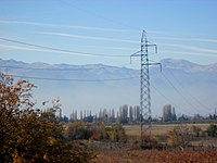 Electric power transmission , Далновод на електрична енергија.JPG