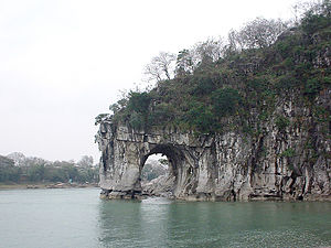 Elefantenrüsselberg in Guilin