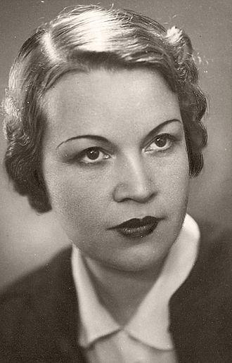 Elisaveta Bagriana - Elisaveta Bagryana (fragment from a photo, made before 1939). Source: Bulgarian Archives State Agency