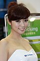 Elitegroup promotional model at Computex 20100605a.jpg