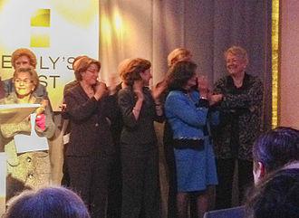 Ellen Malcolm - Ellen Malcolm (right) attending an EMILY's List event in 2011.