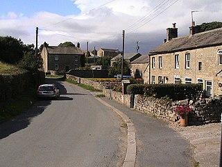 Ellingstring Village and civil parish in North Yorkshire, England