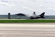 Ellsworth AFB B-1B take off
