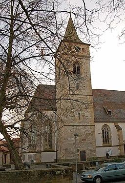 Eltingen Michaelskirche 1739WA
