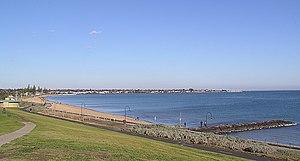 Beaches in Port Phillip - Elwood Beach and Port Philip