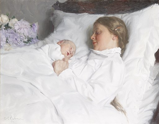 Emil Österman - Mother and child