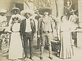 Emiliano Zapata, Brother Eufemio, with Wives (30138746320) (cropped).jpg