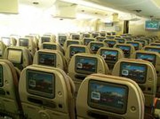 Economy class - Economy Class on an Emirates Airbus A380