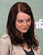 Photo of Emma Stone in 2010.