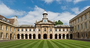 Emmanuel College, Cambridge.
