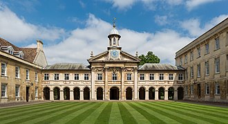 Emmanuel College, Cambridge - Image: Emmanuel College Front Court, Cambridge, UK Diliff