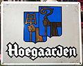 Enamel advertising sign, Hoegaarden, Email Belge.JPG