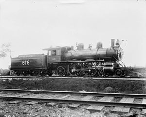 Canada Atlantic Railway - Engine 618, Canada Atlantic Railway