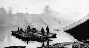 Battle of Heilbronn (1945) - U.S. Engineers at Heilbronn, April 1945