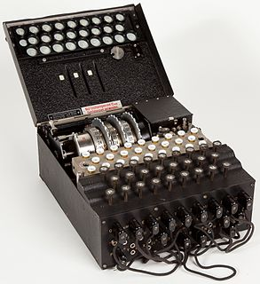 Enigma machine German cipher machine
