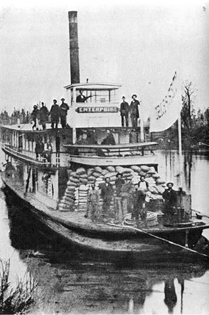 People's Transportation Company - The steamer ''Enterprise'', built 1863.