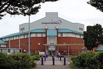 Liverpool Women's Hospital - Image: Entrance, Liverpool Women's Hospital 2
