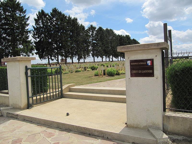 Fichier:Entry Nécropole nationale de Cerny-en-Laonnois.JPG