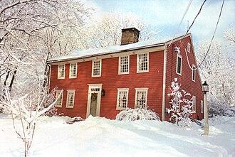 Nichols, Connecticut - Ephraim Hawley House built in 1683