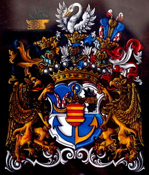 Nostitz family - Arms of the Counts of Nostitz-Rieneck