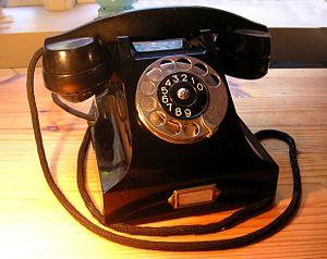 Ericssons Bakelittelefon 1931