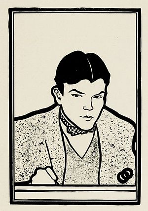 Ernest Haskell - Image: Ernest Haskell self portrait