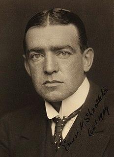 Ernest Shackleton Anglo-Irish polar explorer (1874–1922)