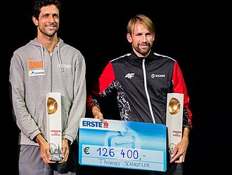Marcelo Melo - Łukasz Kubot and Marcelo Melo, 2016 Vienna Open Champions