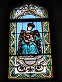 Escource (Landes) église, vitrail 06.JPG