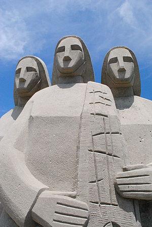 1959 Escuminac disaster - Escuminac Disaster Memorial at Escuminac, New Brunswick for the victims of the storm