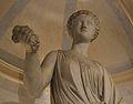 Estàtua de Flora, vestíbul del palau del marqués de Dosaigües.JPG