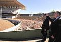Estádio Nacional de Brasília during ceremony to launch renovation 2010-07-27 2.jpg