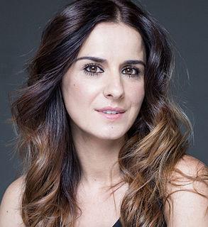 Estíbaliz Gabilondo Spanish actress and journalist