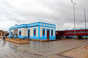 Cajicá - Image: Estación del ferrocarril de Cajica