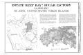 Estate Reef Bay, Sugar Factory, Title Sheet - Estate Reef Bay, Sugar Factory, Reef Bay, St. John, VI HAER VI,2-REBA,1C- (sheet 1 of 3).png