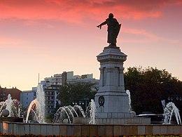 Estatua Guzmán el Bueno León