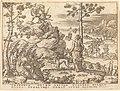 Etienne Delaune, Orion Killed by Apollo, NGA 47814.jpg
