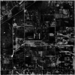 Etobicoke, sorth of the Queensway, south of Bloor, showing Kipling and Islington, in 1947.png