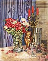 Eugen Hamm - Stillleben Rosenstrauß in Glasvase.jpg