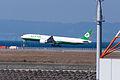 Eva Airways ,BR132 ,Boeing 777-36N(ER) ,B-16719 ,Arrived from Taipei ,Kansai Airport (16460943987).jpg