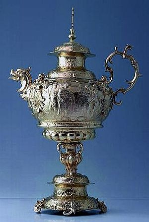 John II Casimir Vasa - A silver ewer from 1640 commissioned by John Casimir