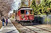 Ex-San Jose Railroad car 124 on Kelley Park streetcar line next to Senter Rd (2012).jpg