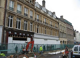 Robert Sayle - The former Robert Sayle building being modified to create the Grand Arcade