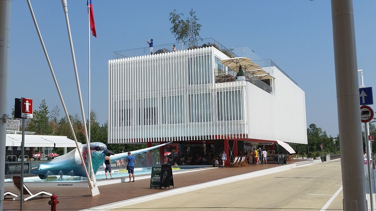 Expo 2010 pavilions  Wikipedia