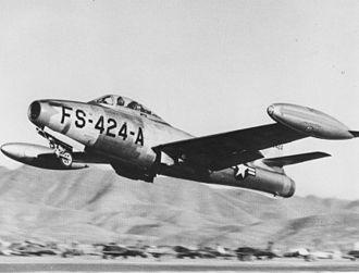 Republic F-84 Thunderjet - USAF F-84E Thunderjet
