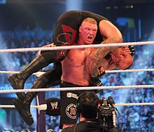F5 on the Undertaker at WM30.jpg